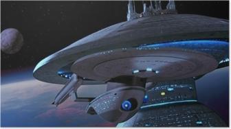 Poster Ship from Star Trek
