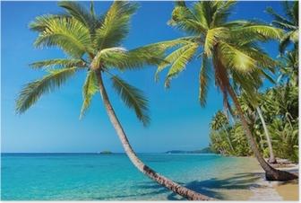 Poster Spiaggia tropicale, Thailandia