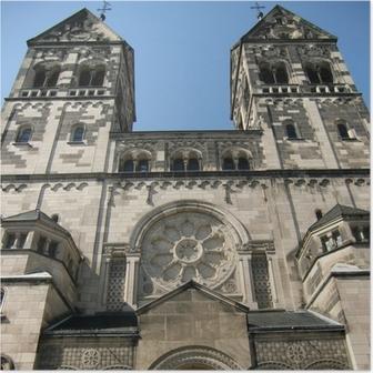 Poster St. Josef-Kirche in Düsseldorf-Rath