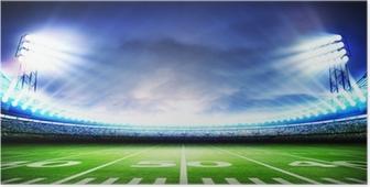 Poster Stadion amerikanisch