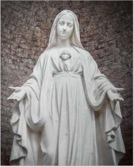 Poster Statue Unserer Lieben Frau