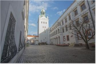 Poster Stettin - Das Schloss der Pommerschen Fürsten