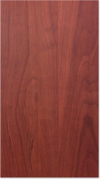 Poster Struttura di legno di ciliegio • Pixers® - Viviamo per il ...