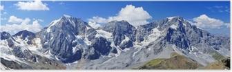 Poster Südtiroler Dreigestirn - Ortler und König
