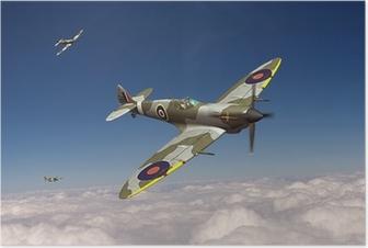 Poster Supermarine Spitfire