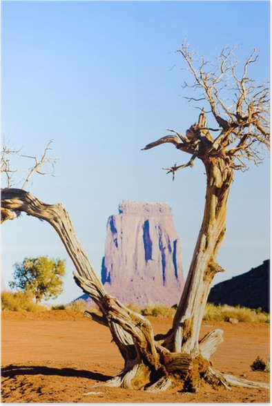 Poster The North Window, Monument Valley NP, Utah-Arizona, USA - Amerika