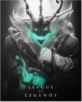 Poster Thresh - League of Legends