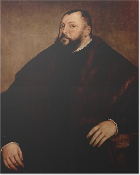 Poster Tizian - Kurfürst Johann Friedrich von Sachsen - Reproduktion