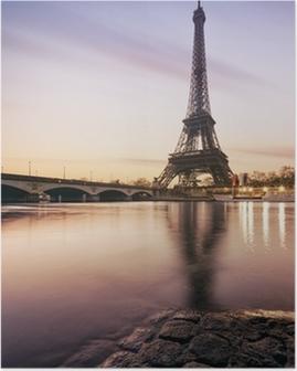 Poster Tour Eiffel - Paris - Frankreich