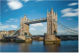 Poster Tower Bridge Londra Inghilterra