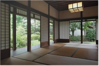 Traditionelle Japanische Häuser poster japanische häuser pixers wir leben um zu verändern