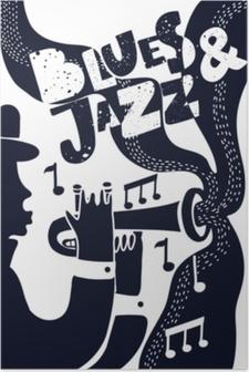 Poster Vektor-Jazz Poter