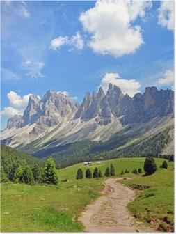 Poster Vette in Alpi