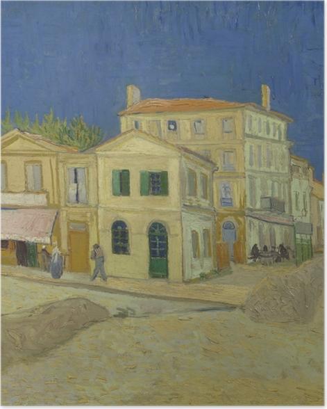 Poster Vincent van Gogh - Das gelbe Haus - Reproductions