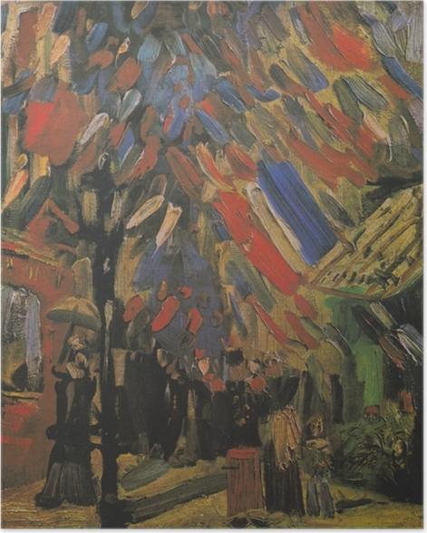Poster Vincent van Gogh - Der 14. Juli - Reproductions