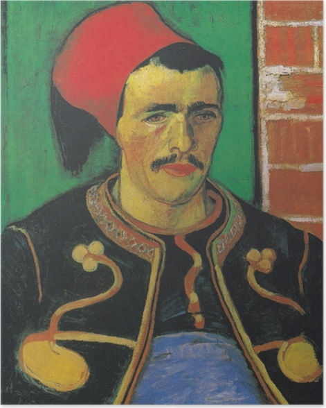 Poster Vincent van Gogh - Der Zuave - Reproductions