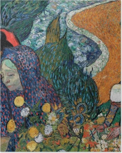 Poster Vincent van Gogh - Erinnerung an den Garten in Etten - Reproductions