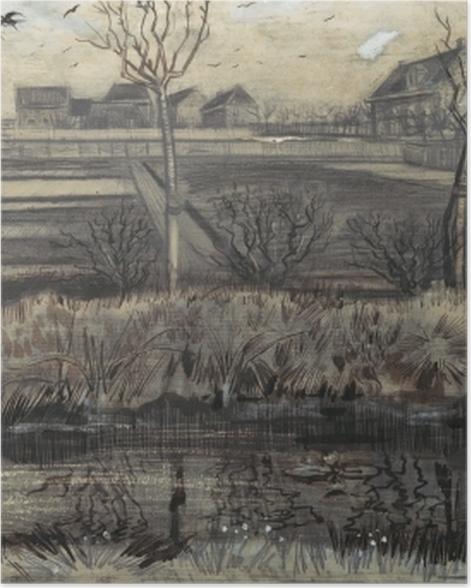 Poster Vincent van Gogh - Kindergarten am Schenkweg - Reproductions
