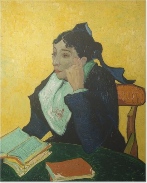 Poster Vincent van Gogh - L'Arlésienne - Reproductions