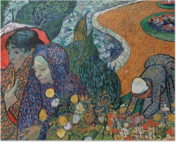 Poster Vincent van Gogh - Souvenir del Giardino a Etten - Reproductions