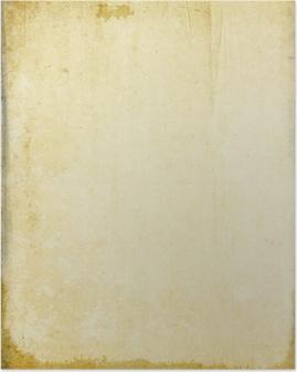 Poster Vintage Carta