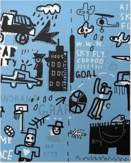 Poster Wandschmierereien