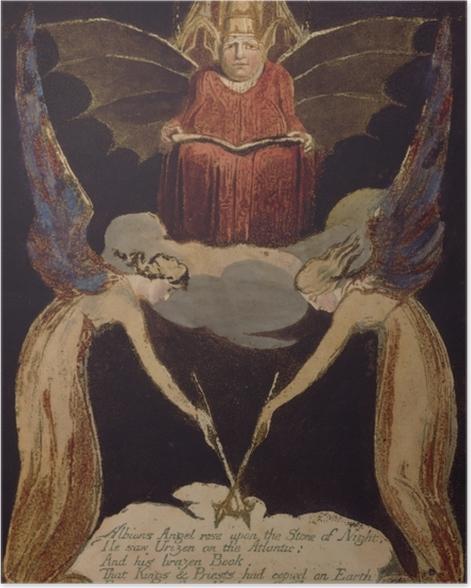 Poster William Blake - Jerusalem - Reproduktion
