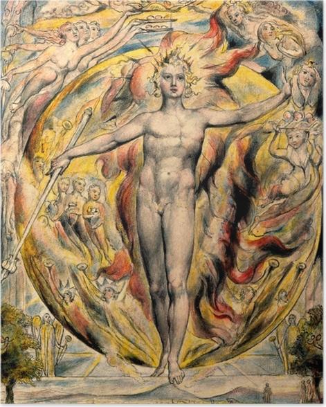 Poster William Blake - Mose - Reproduktion