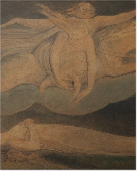 Poster William Blake - Pity (Das Mitleid) - Reproduktion