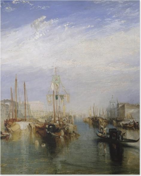 Poster William Turner - Canal Grande - Reproduktion