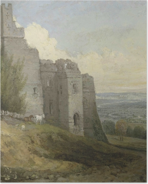 Poster William Turner - Conwy Castle - Reproduktion