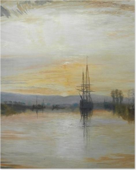 Poster William Turner - Der Kanal von Chichester - Reproduktion