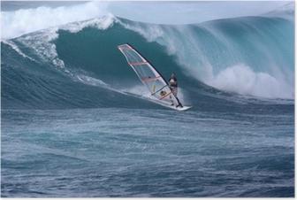 Poster Windsurfen