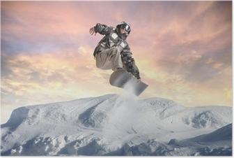 Poster Winter-Akrobatik