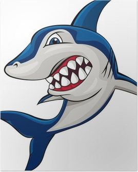 Poster Wütend shark