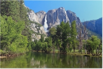 Poster Yosemite Fall