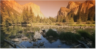 Poster Yosemite national park