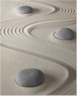 Poster Zen garden