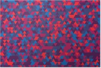 Poster Zusammenfassung Hintergrund der Dreiecke. Die Abstufung von Violet. Violetten Reflexen.