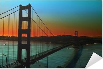 Póster Autoadesivo Golden Gate Bridge