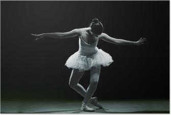 Póster Ballet dancer-action