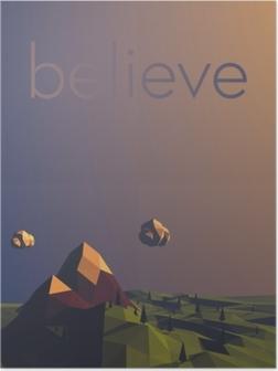 Póster Believe