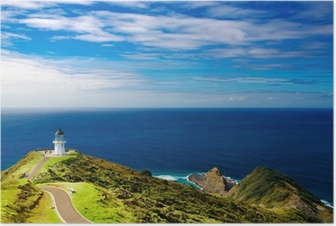 Póster Cape Reinga Lighthouse, New Zealand