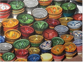 Póster clay pots