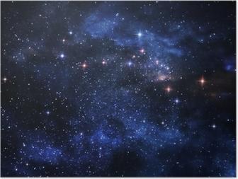 Póster Deep space nebulae