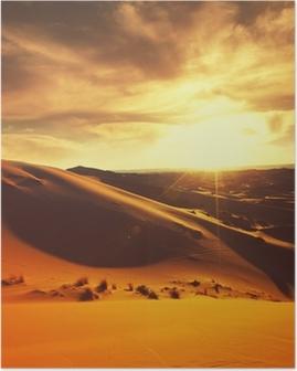 Póster Desert