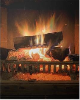 Póster Fireplace