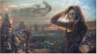 Póster Mass Effect