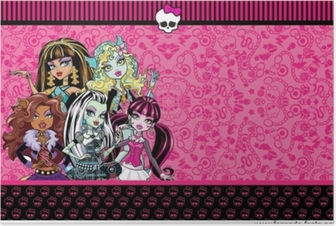 Póster Monster High