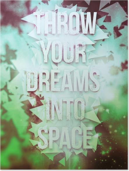 Póster Poster inspirador -